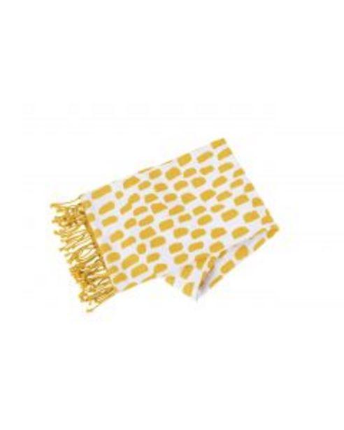 Footah pois jaune - L.100 x l.180 cm offre à 15€