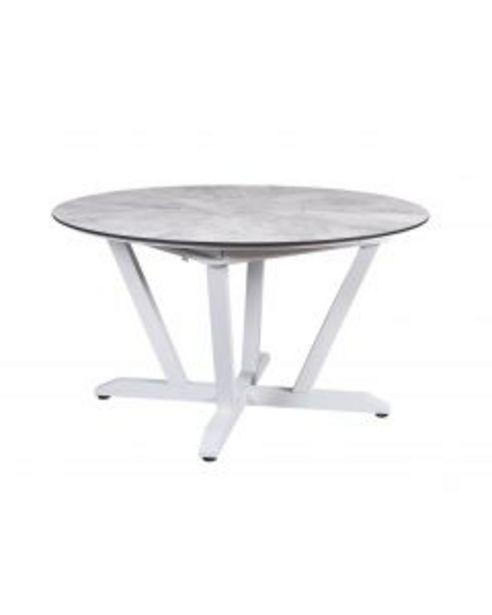 Table ronde extensible Rondo blanche L.135/185 x l.135 x H.75 cm offre à 1€