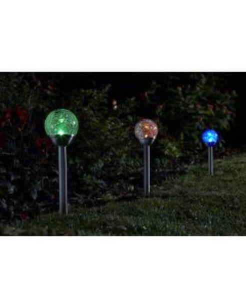 Carry Pack Balises solaires Globes Craquelées offre à 21,95€