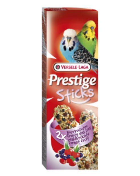 Prestige Sticks Perruches Fruits des Bois 2x30 g offre à 2,2€
