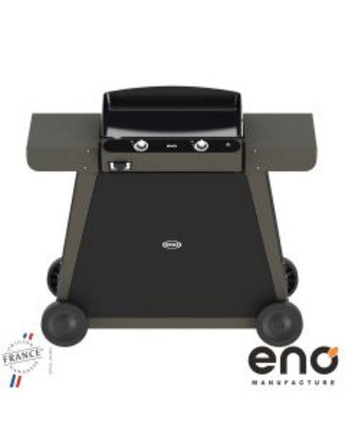 Eno - Plancha à gaz sur chariot pack Bergerac 60 + Capot offre à 764,95€