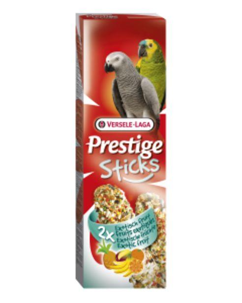Prestige Sticks Perroquets Fruits Exotiques 2x70 g offre à 4,7€