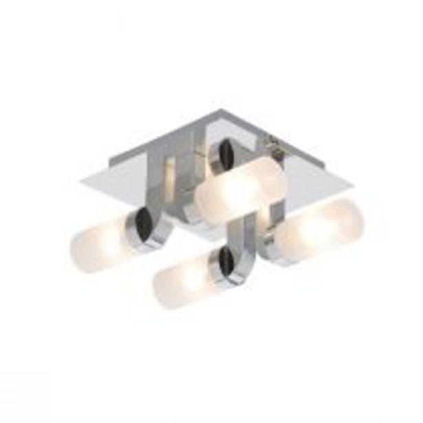 Plafonnier de salle de bain FLOTTI chromé en métal offre à 290€
