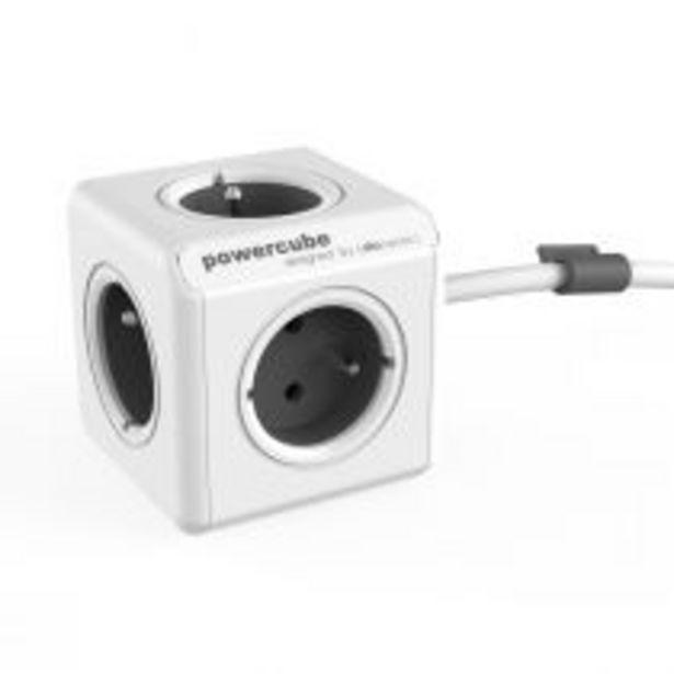 PowerCube Extended multiprise grise offre à 14,9€