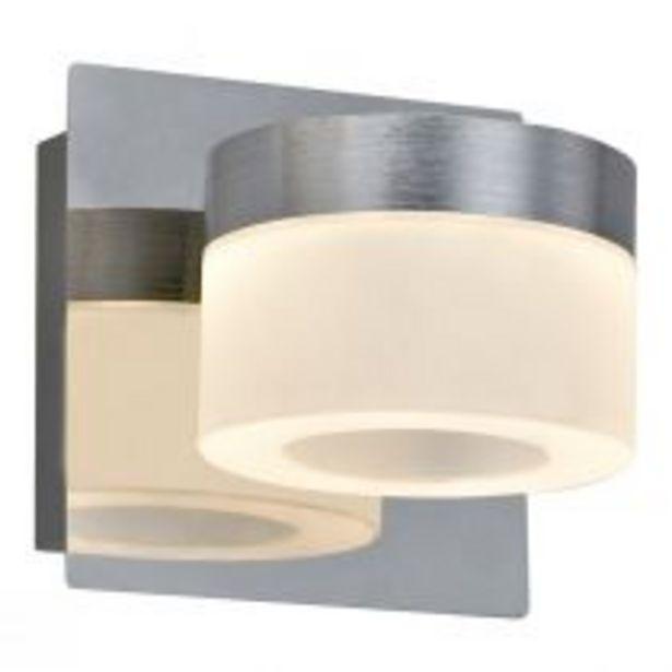 Spot seul LED STEEL en métal chrome offre à 39,9€
