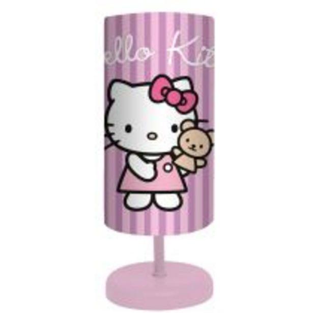 Lampe à poser HELLO KITTY rose en pvc offre à 9,5€