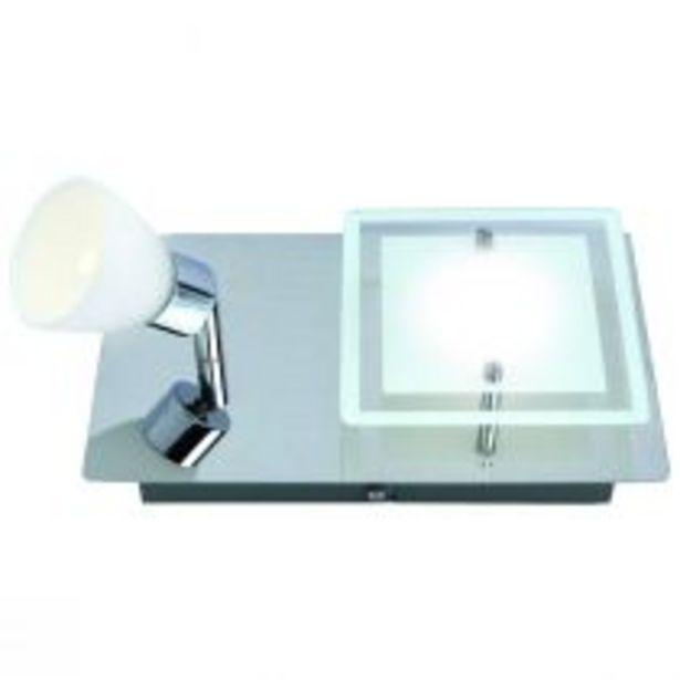 Spot seul LED PRITT en métal argenté offre à 69€