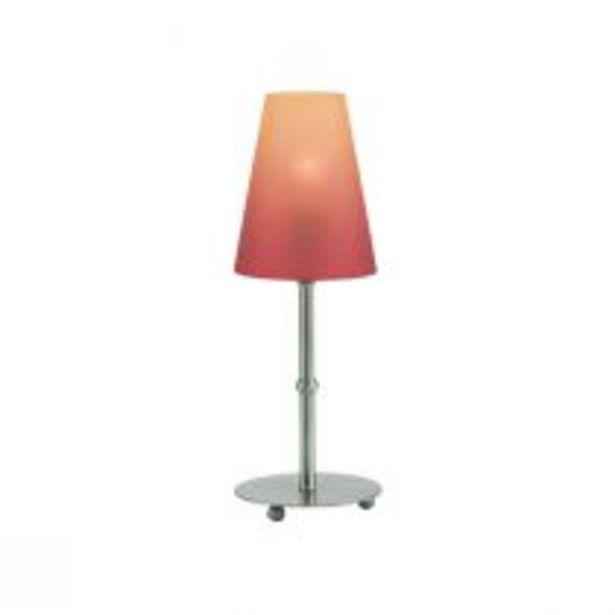 Lampe à poser BIANCA en métal orange offre à 18,72€