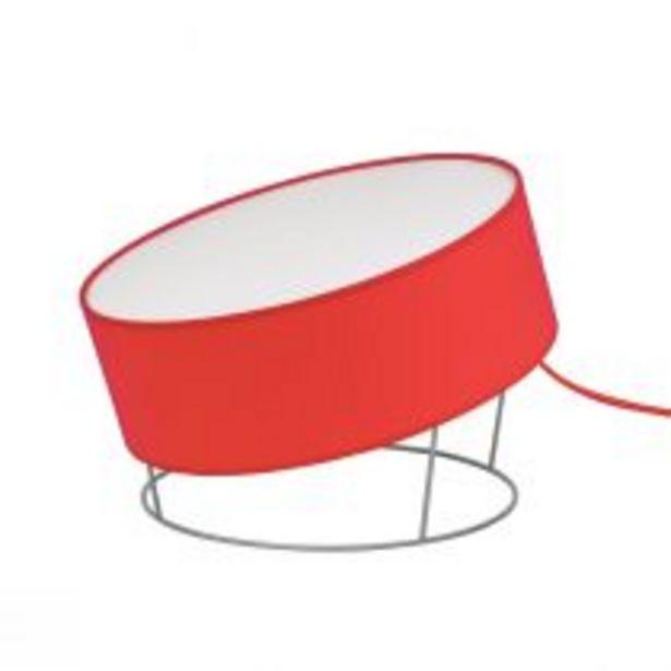 Lampe de salon MOVING Ø35 orange en tissu offre à 42,45€