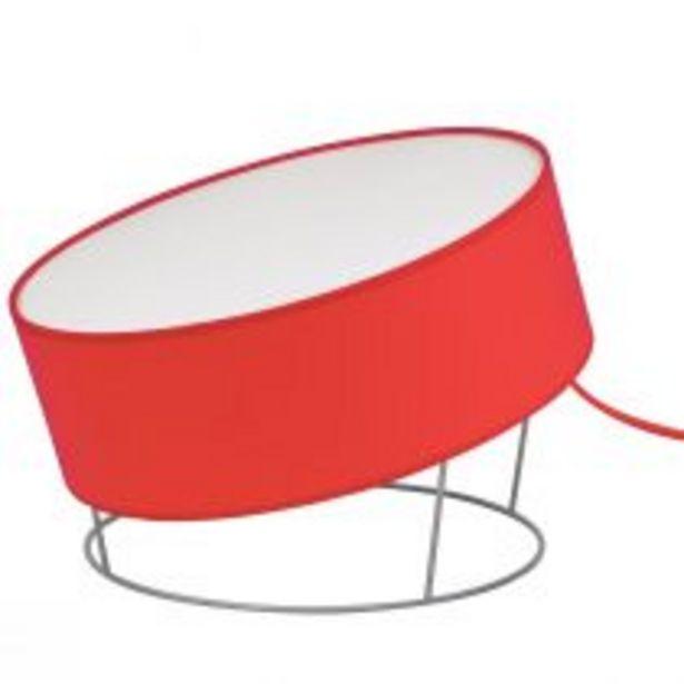 Lampe de salon MOVING Ø55 orange en tissu offre à 59,5€