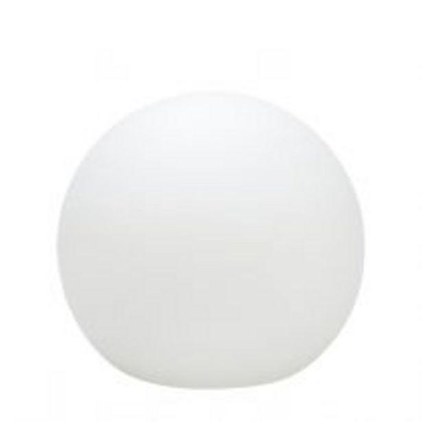 Boule lumineuse BALL (D35cm) en polyéthylène blanc offre à 159€