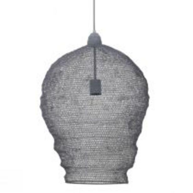 Suspension maille NIKKI (D45cm) en métal gris offre à 189€