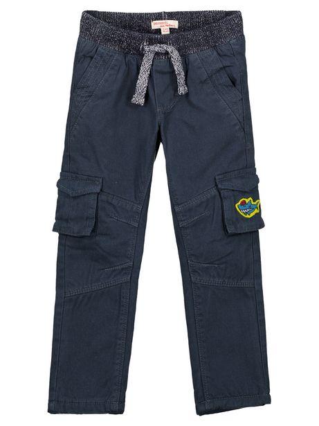 Pantalon Cargo Marine Doublé polaire offre à 12€