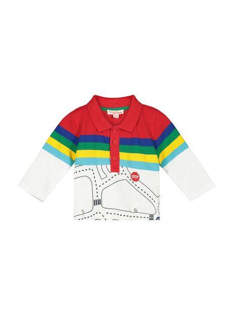 Polo à manches longues bébé garçon offre à 8,99€