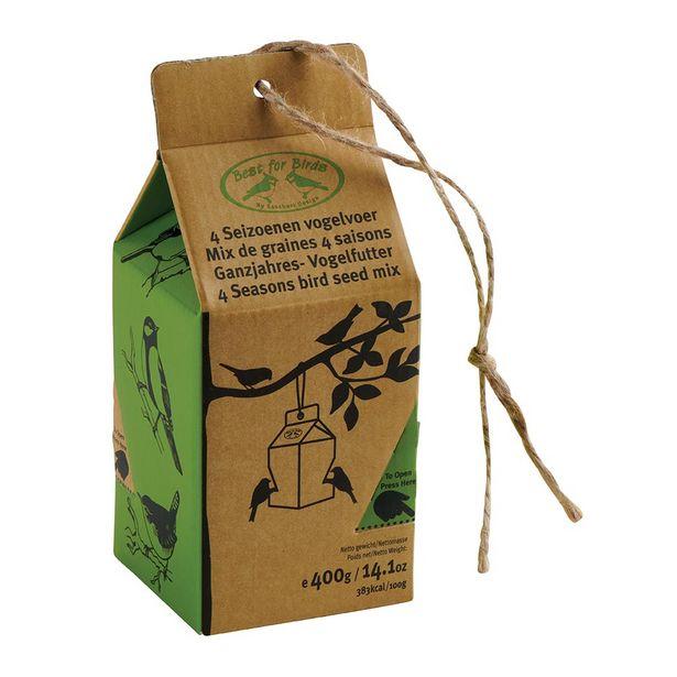 Pack kraft mix graines oiseaux offre à 2,5€