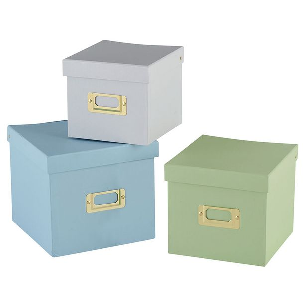 Set de 3 boîtes SELENA offre à 1,95€