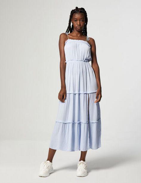 Robe longue smockée offre à 29,99€