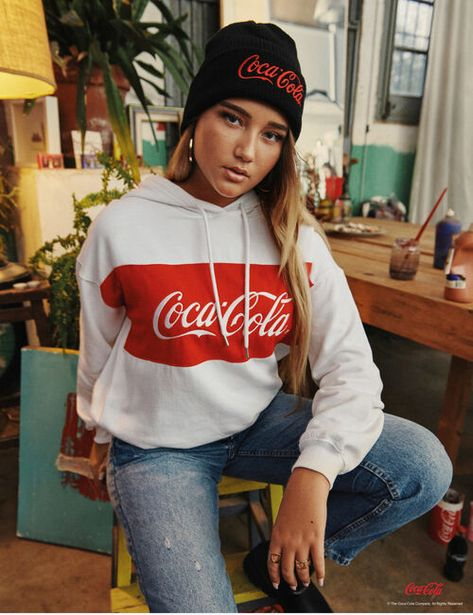 Sweat loose Coca-Cola offre à 9,99€