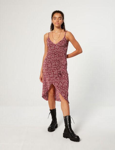 Robe plissée imprimée offre à 15,99€