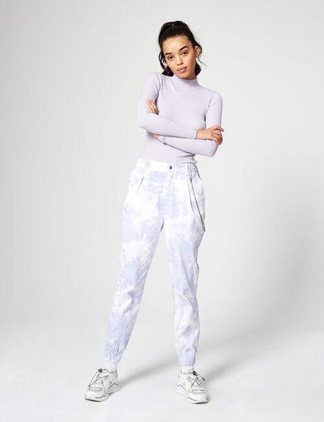 Pantalon cargo tie and dye offre à 12,99€
