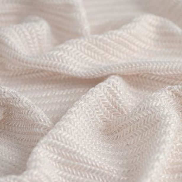 Tissu maille polyester et elasthanne chevron or offre à 9,99€