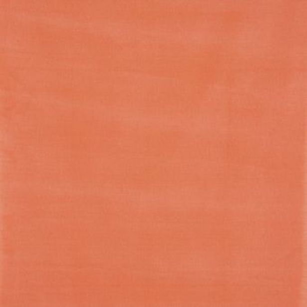 Tissu coton lin brossé orange offre à 19,99€