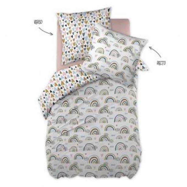 Parure de lit arc-en-ciel offre à 39,99€