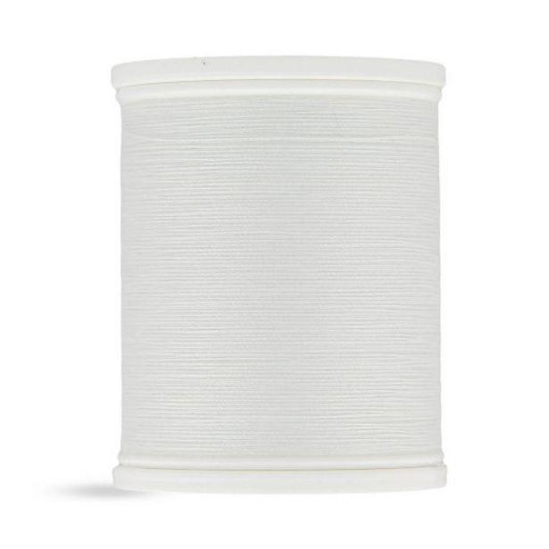 Bobine fil 500 m 100% polyester   blanc offre à 4,49€