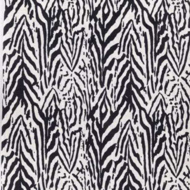 Coupon motif zebra noir et blanc offre à 5,99€