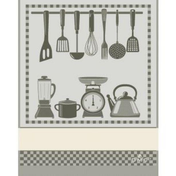 Torchon Cuisine gris offre à 14,99€
