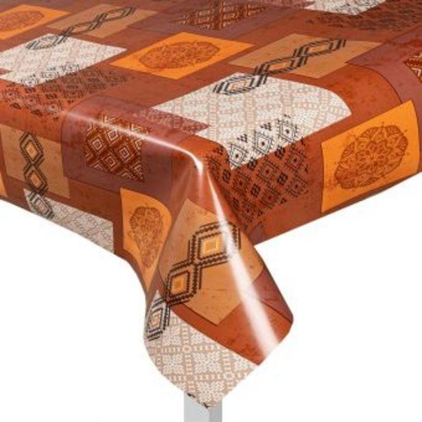 Protège table motif ethnique offre à 13,99€