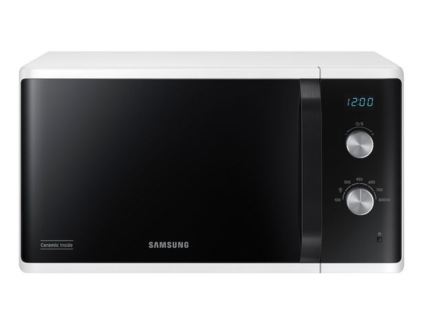 Micro-ondes Samsung MS23K3614AW offre à 139€