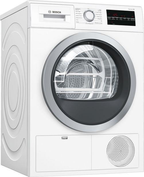 Sèche linge Bosch WTG85409FF offre à 659€