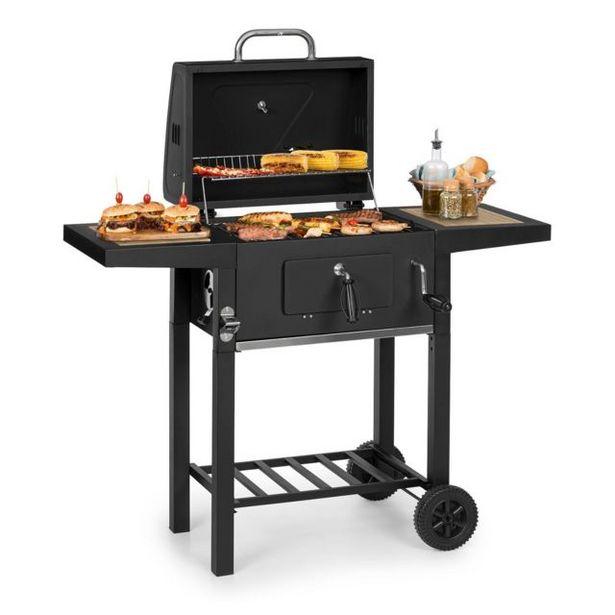 Klarstein Meat Machine Barbecue à charbon de bois - Grill 45x 32,5 cm-(...) offre à 134,99€