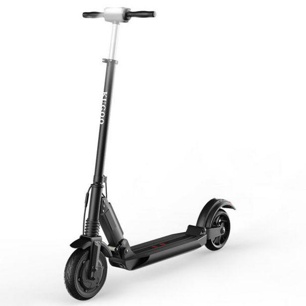KUGOO S1 Trottinette Électrique Pliable,patinette noir offre à 299€