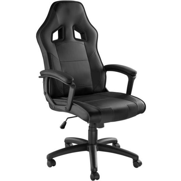Chaise gamer SENPAI - noir offre à 105,99€