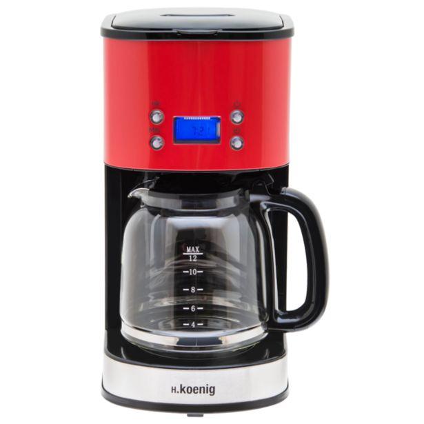Cafetière Programmable Rouge MG30 - Rouge offre à 39,9€