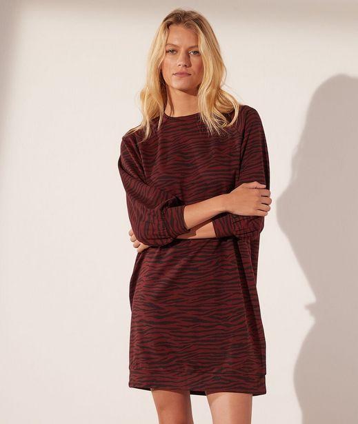 LEO Robe sweat zèbre offre à 39,99€