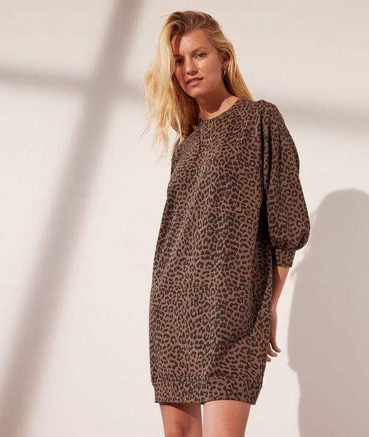 LEO Robe sweat léopard offre à 39,99€