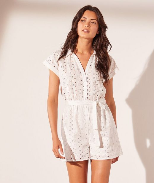 PEOMA Combishort broderie anglaise offre à 49,99€
