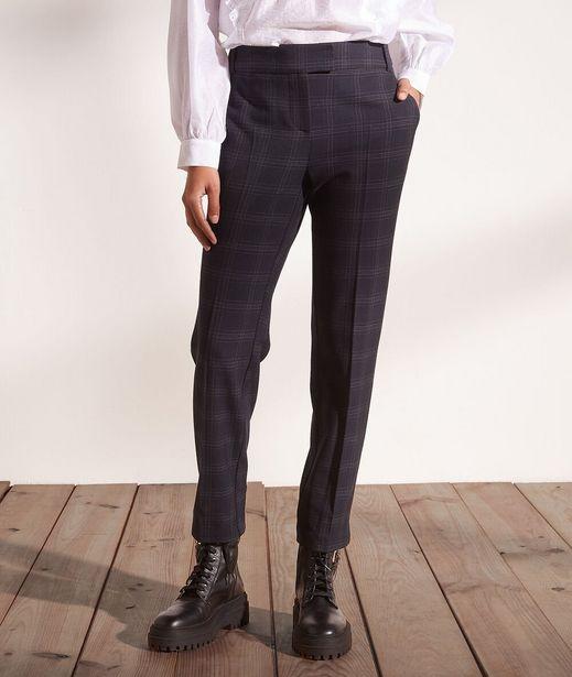 GARPARD Pantalon à carreaux, 7/8 offre à 22,49€