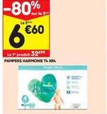 Pampers harmonie offre à 32,99€