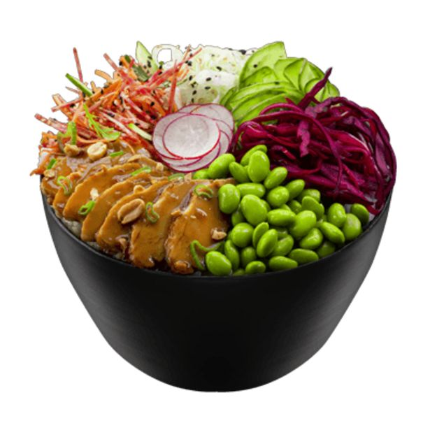 Poke Bowl Poulet Teriyaki offre à 12,5€