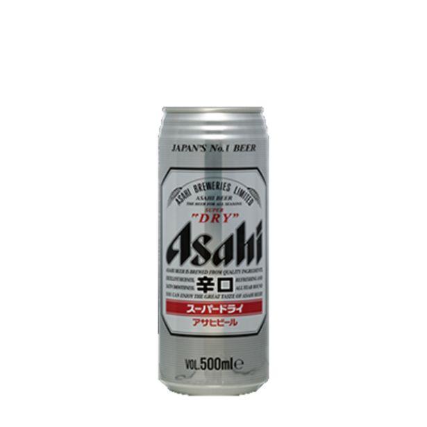 Bière Asahi 50cl offre à 4,9€