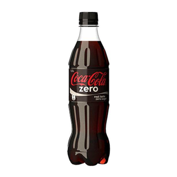 Coca-Cola Zero 50cl offre à 3,4€