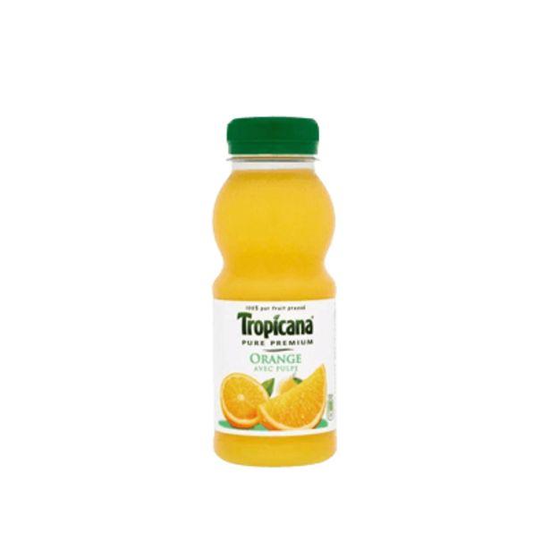 Pur jus d'orange 25cl Tropicana offre à 2,3€