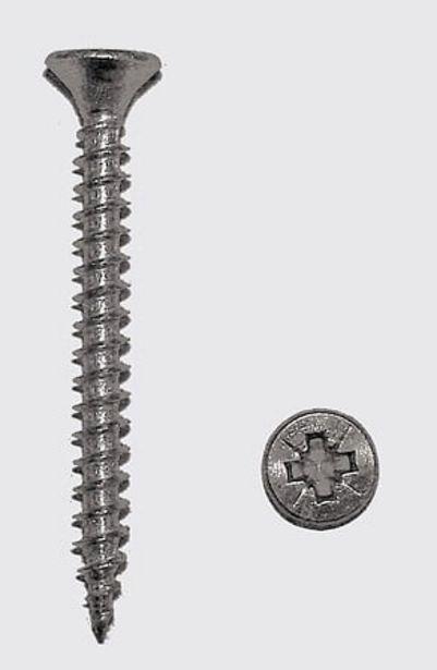 Berlingot de 200 vis agglo 4x40 mm FORTFIX offre à 2,75€
