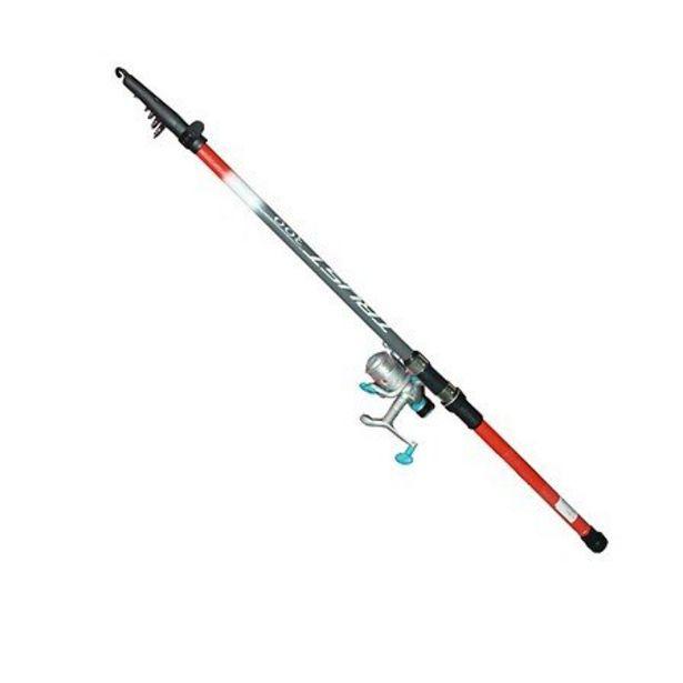 Ensemble pêche truites canne téléscopique 3m + moulinet RD T2 1BB offre à 28,96€