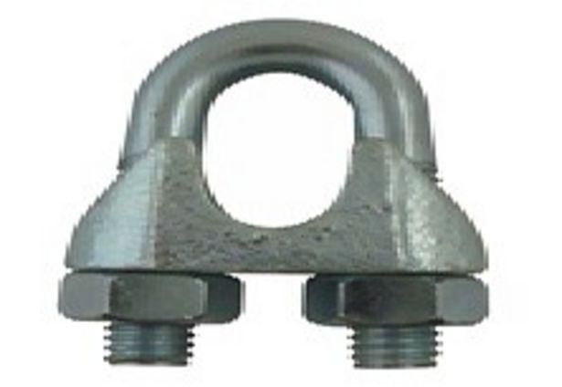 Lot de 6 serres-câble vélo acier zingué diamètre 2,5 mm VISO offre à 4,69€