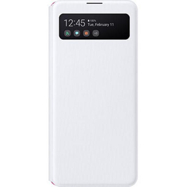 Etui S View pour Samsung Galaxy A41 blanc offre à 29,99€